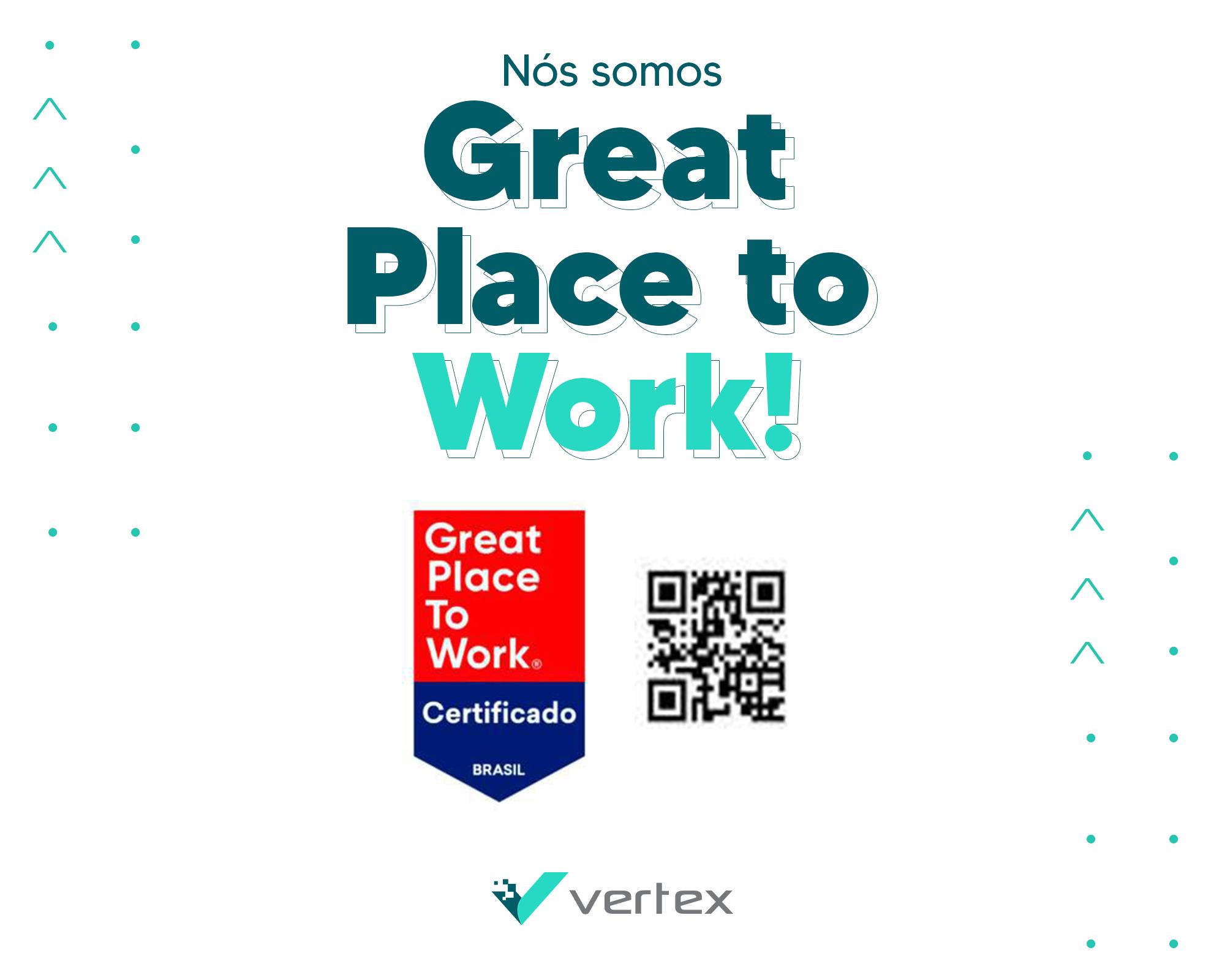 Ótima notícia: somos um Great Place to Work